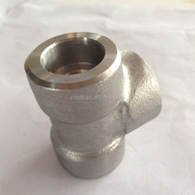 Galvanized tee forged carbon steel pipe fitting