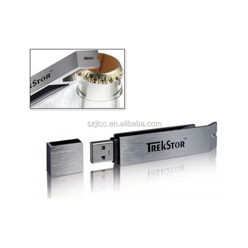 Pendrive 4GB To 32GB USB Flash Drive Bottle Opener With Custom Logo