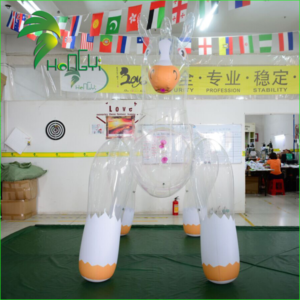 inflatable clear horse with SPH (6)