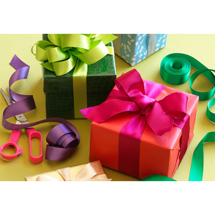 Hot Sales Double Sided Satin Ribbon for gift packing