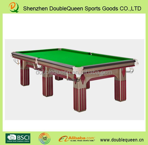 American style Antique Solid wood round dining table cheapest price marble coin pool table