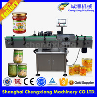 Trade assurance machine labeling botol,round bottle labeller price