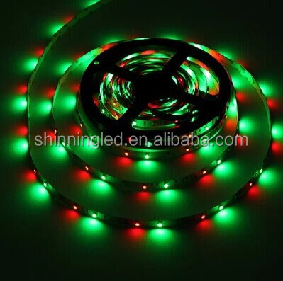 220V/110V high voltage 60 <strong>leds</strong>/meter 3528 SMD flexible strip light W+WW two colors