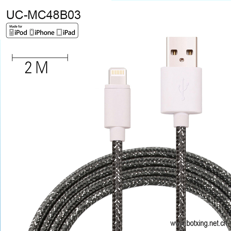 High Quality for iphone Made In China cable 8 pin usb