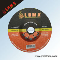 resin polishing disc with abrasive stainless steel