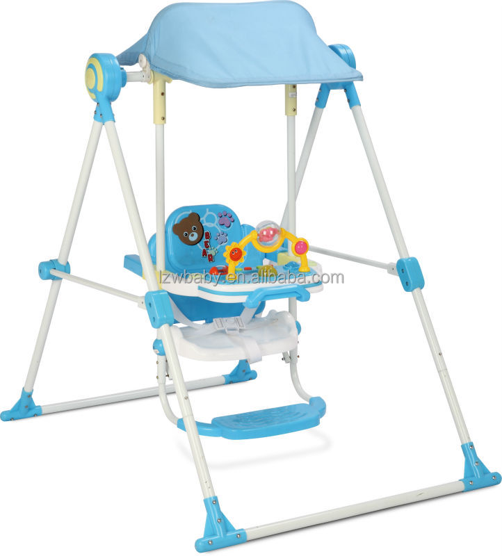 LZW factory sell 2015 new Chinese baby swing : model Q213P