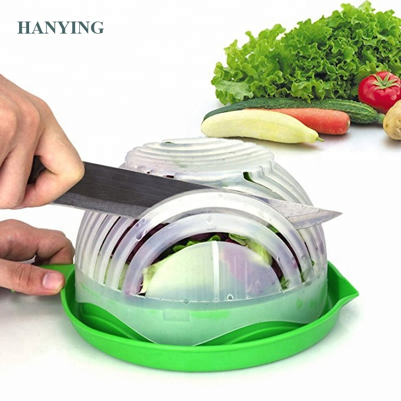 2019 New Kitchen Gadget Quick Cutter Chopper Kitchen Tool Best Salad Maker  Salad Cutter Bowl - Buy Salad Maker Salad Cutter Bowl,Kitchen Gadgets ...