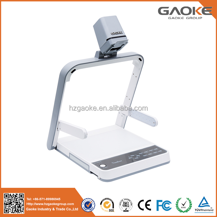 HD USB digital newest model android wifi SD visual presenter V520 visualizer document camera