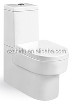 Cheap Chinese factory price of wash down two piece toilet
