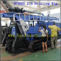 With air compressor! HF300Y portable water well drill machines for sale ~ Rock expert