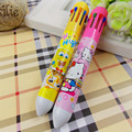 hot sale 10 in 1,6 in 1 colorful bic ball pen,cute ball-point pen with logo
