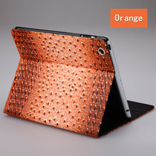 New Arrival Stand Cover Case High Quality Fashion Slim Crocodile Leather Case for Apple iPad 2 3 4