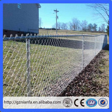 ASTM 9 gauge galvanized chain link fence mesh fabric and accessories
