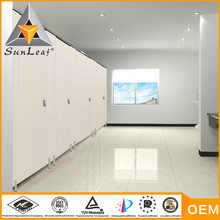 5 years guarantee waterproof toilet cubicle partition board