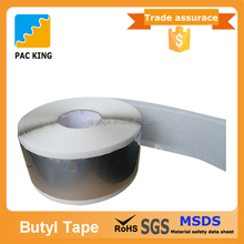 China Factory Waterproof Double Sided Butyl Tape With Permanent Flexibility