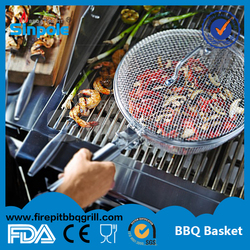S2015 New Hot Sell Sinpole BBQ BASKET with CE/FDA approved(SPBQT01)