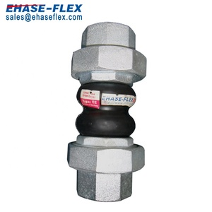 EPDM Double Sphere Flexible Joint Threaded Union Type Expansion Pipe Joint