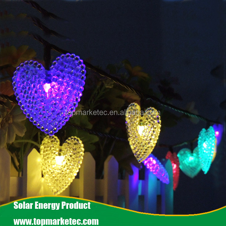 Solar LED string lights Christmas tree decoration outdoor garden wedding holiday light strings