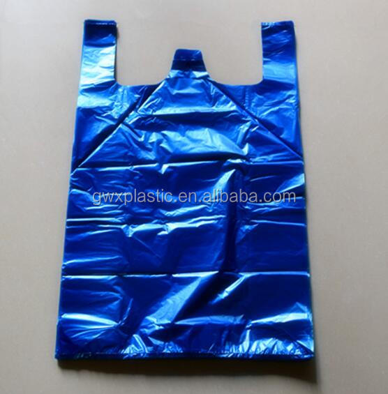 Wholesale Hdpeldpe Vest Bags For Supermarket Shopping