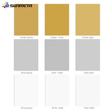 Sunmeta High Definition HD photo panel sublimation metal aluminium blanks sheets