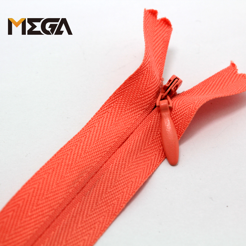 No.3 nylon invisible zipper for women dress