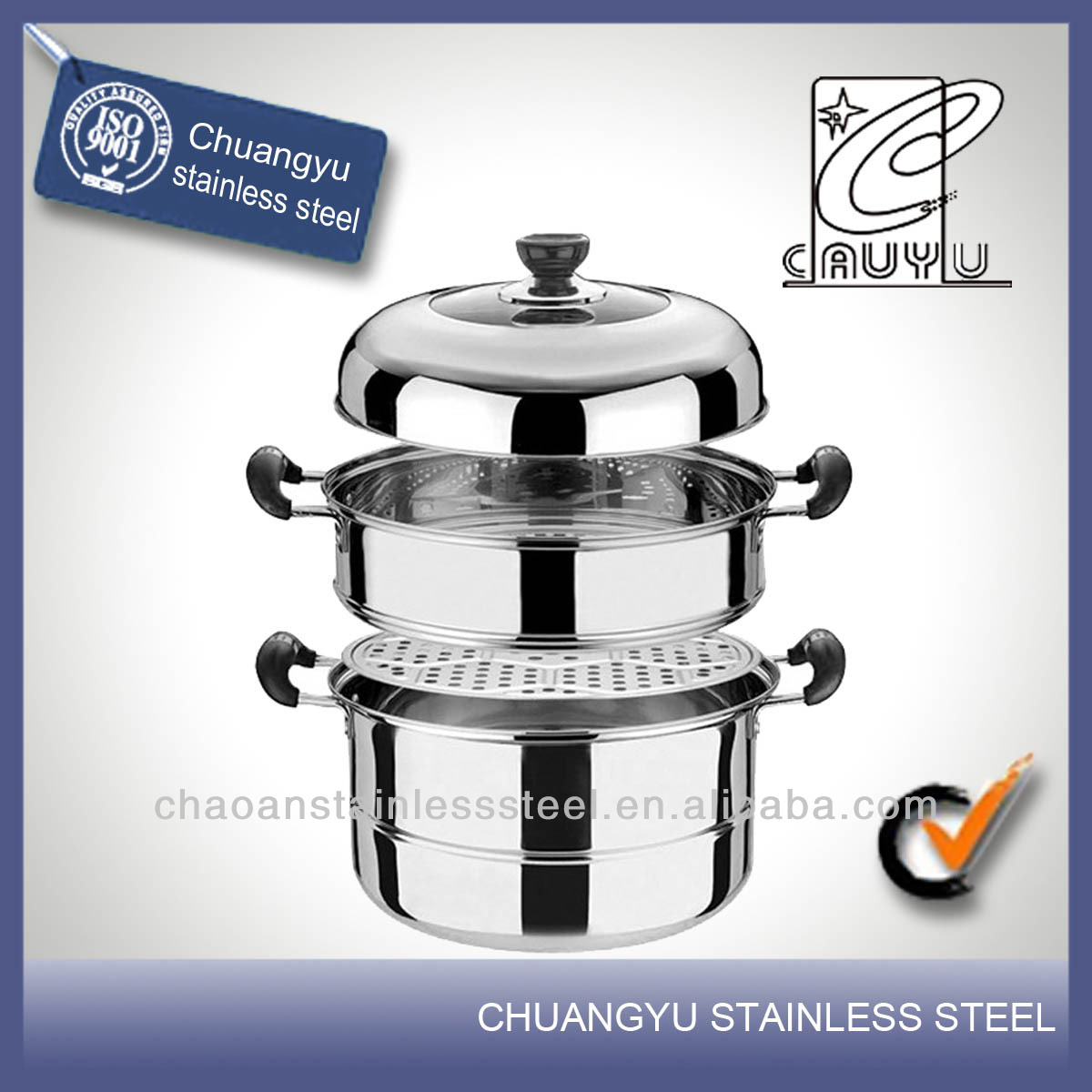 Stainless steel high quality optima steamer on sale