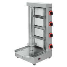 Gas Gyros Equipment 4 Burners made in china (Catering)
