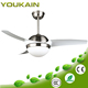 52 Inches modern design LED light ceiling fan