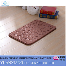 Yuxiang Bathroom Stone Style new hand carved hotel rug / entrance mats