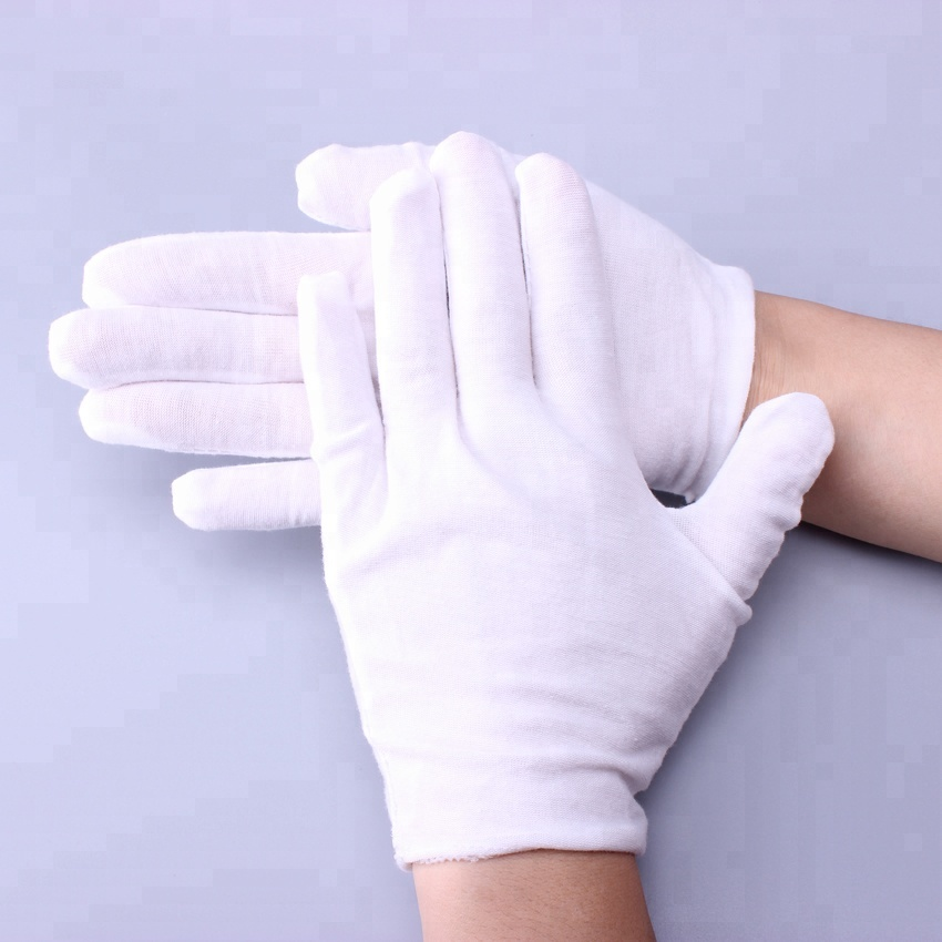 Cheap Industrial Breathable White Cotton Work Safety <strong>Glove</strong>