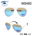 2017 Classic Shape Newest Design Metal Sunglasses (MS482)