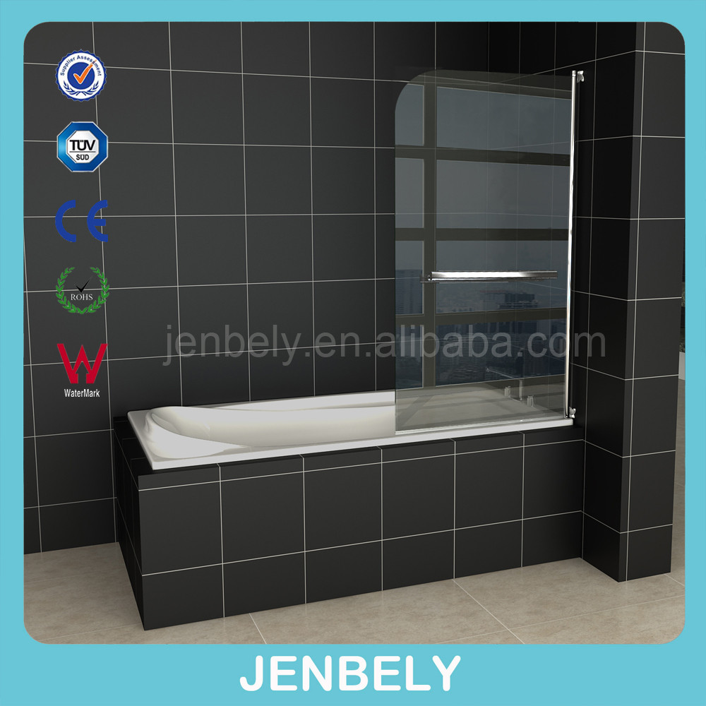 Butterfly Hinge With Tower Rack Bath Screen BL-061