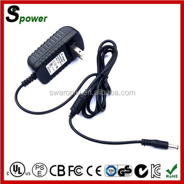 24W Adapter Charger 12V 2A for lg with UL SAA CSA PSE FCC KC CE GS