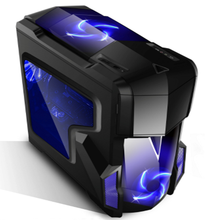 factory wholesale Gaming case PC high quality desktop computer black or white color case gaming with cheap price