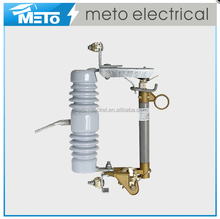 METO High Quality 11kV Porcelain Electrical Power switch High Voltage Drop Cutout Fuse