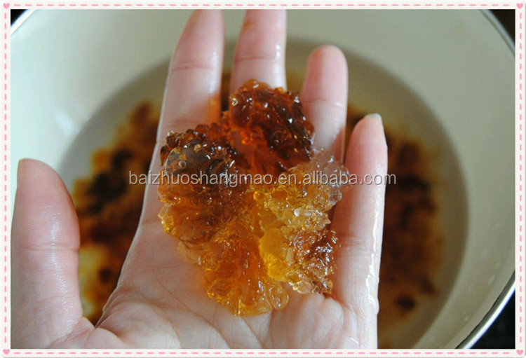Chinese Healthy Food Natural Tree Peach Resin