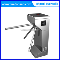 RFID card reader 304 stainless steel main gate designs automatic subway tripod turnstiles barrier gate