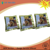 Laminated custom printing small coffee powder packaging bags
