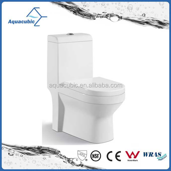 Popular chinese newest ceramic washdown one-piece closet bathroom portable wc toilet