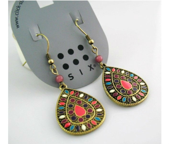 Min. order 10$! Fashion Earrings Free Shipping #OT031