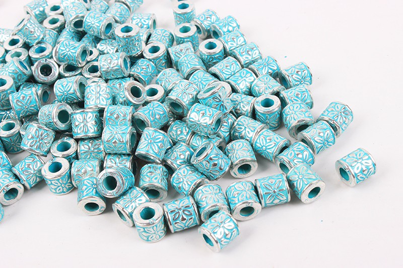 Necklace accessory loose stock miyuki plastic tube beads