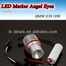 High power America LED chip e39 10w led marker angel eyes for bmw e39