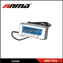 Auto LCD Digital Battery Monitor Car Clock