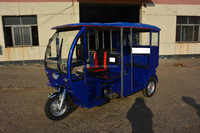 Chinese brand gasoline passenger tricycle for oversea sale