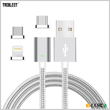 Mobile Phone Cables Magnet USB Type C Cable Magnetic Android Charger Micro USB Data Cable