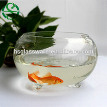Hot Selling Hand Blown Wholesale Glass Large Fish Bowls