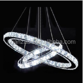 modern crystal globe led hanging pendant light lamp