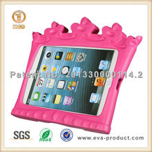 Popular iCrown stylish smart case for ipad mini with stand and handle