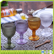 Hot new products unbreakable crystal wine goblet glass cup