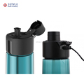 Bluetooth 4.0 smart sport water bottle detect hydration connect to smart phone with app support IOS & Android